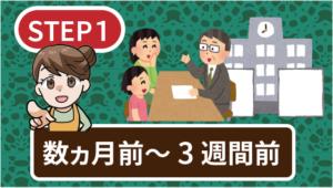 3【STEP1】引越し数ヵ月前~3週間前にやること!